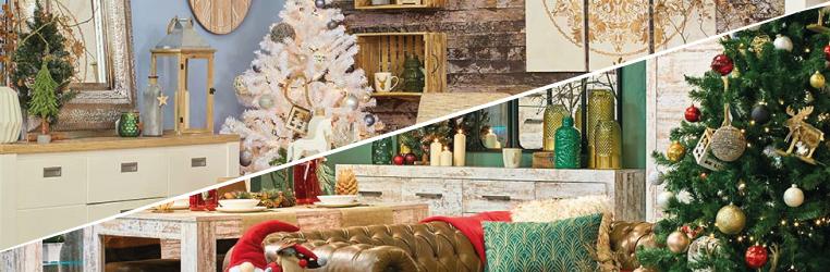 Decoración de Navidad en Conforama Clásica o escandinava