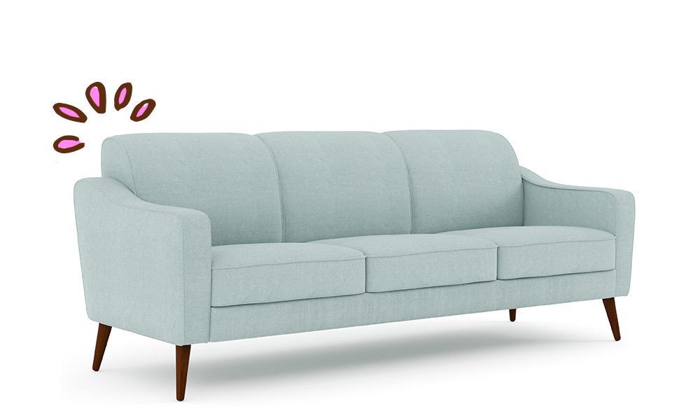 sofa perfeito-Sofá ZOLA 3 lugares Conforama