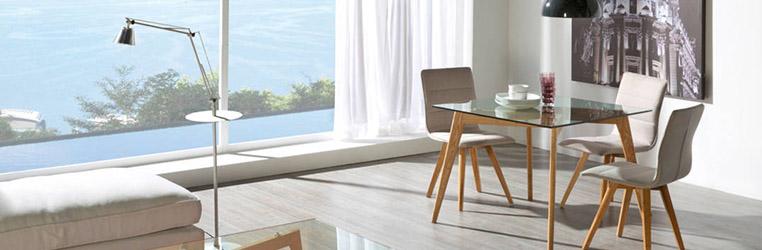 Inspírate con estas ideas para decorar la segunda residencia Mesa de comedor ELMA