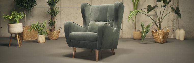 poltrona vintage o sofa moderno