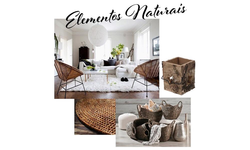 Elementos naturais com tendências