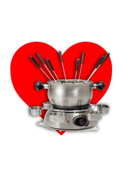 Fondue Ideias para Oferecer São Valentim