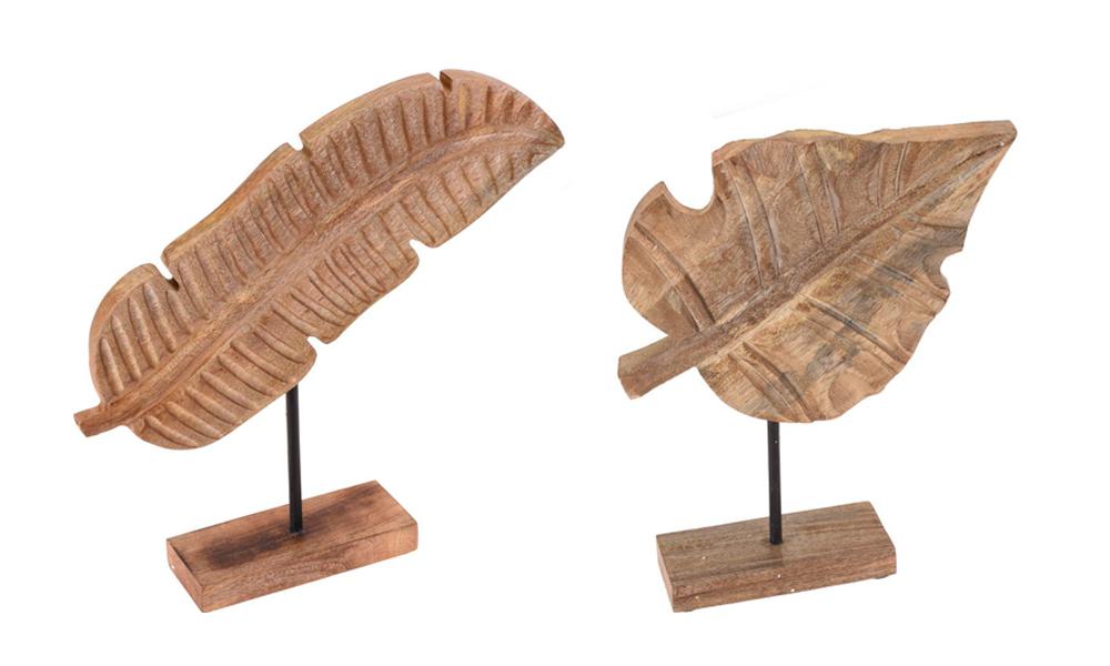Folha madeira Conforama Decoração Natural