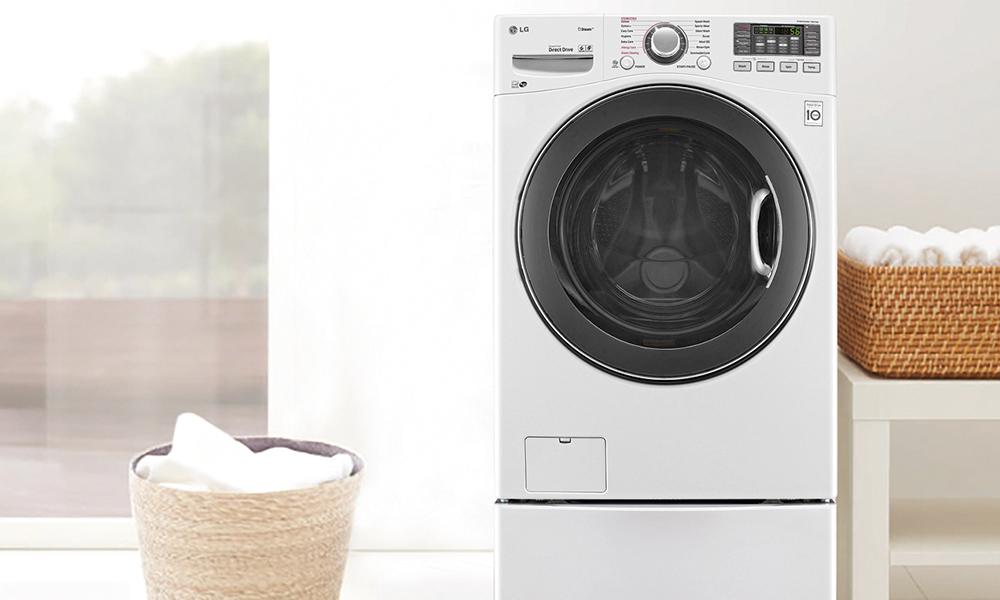 Antes de estrear a máquina de lavar roupa, pela Conforama