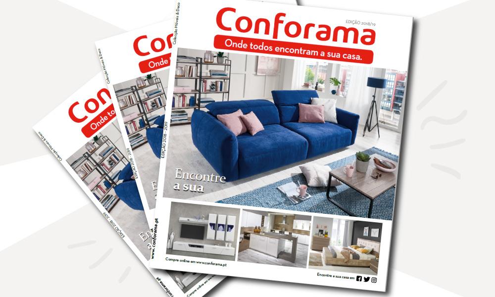 Catálogo Conforama 2018 Portugal Tendências e inspiração em móveis e decoração