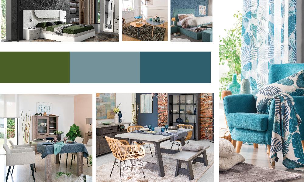 Colores relaxantes para um resultado sereno do post de decoração