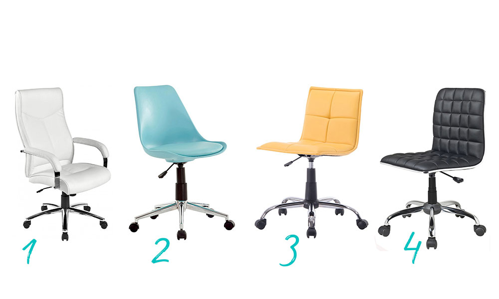 Cadeiras de escritório Conforama