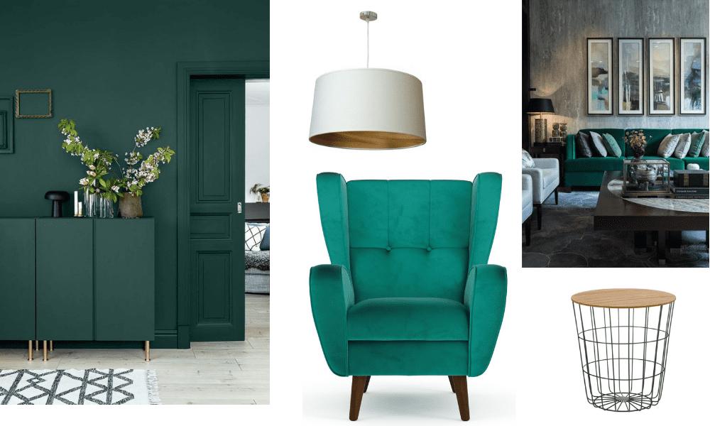Verdes e azuis intensos transmitem sofisticação