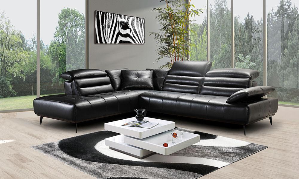 Sofá de canto QUEEN para casas elegantes