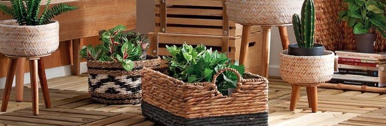 caixas de arrumação decorativas