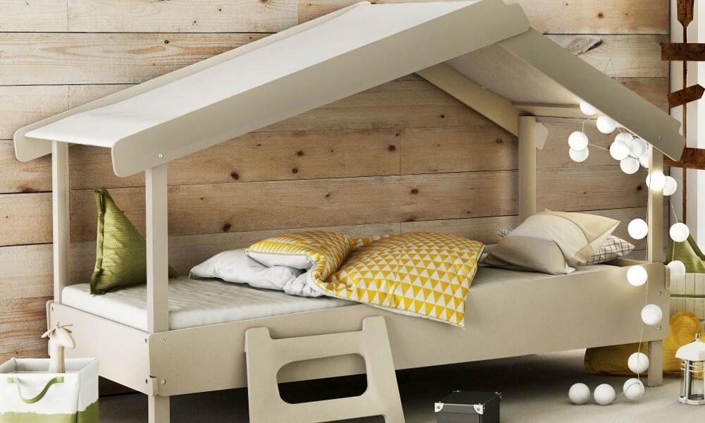 cama montessoriana - rustico