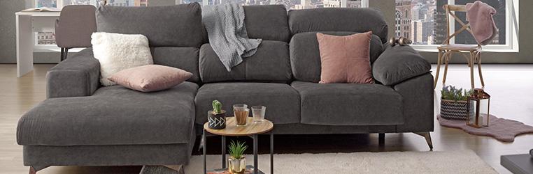 sofas com chaise long