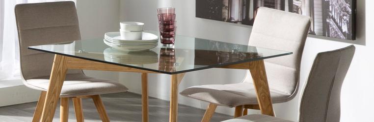 Tipos de vidro - Sala de jantar